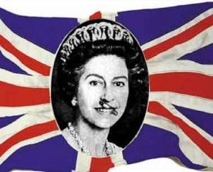 Bandiera Inglese Punk