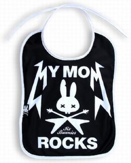 Bavaglini Neonati Rock
