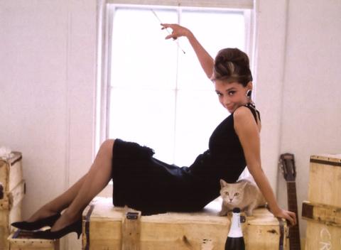 Audrey Hepburn indossa Tubino Nero